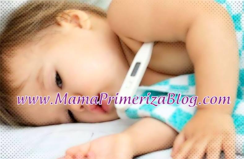 fiebre en bebé recién nacido
