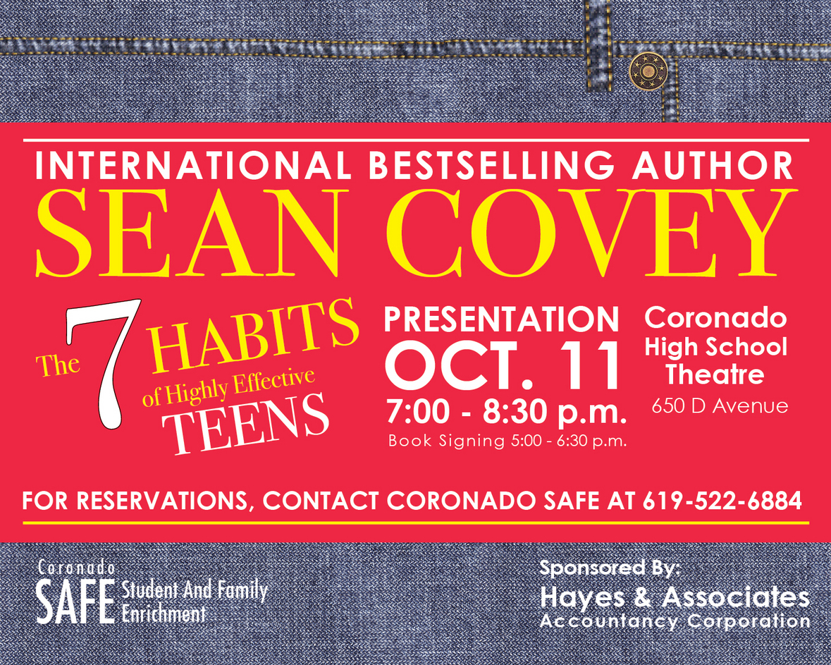 Sean Covey Author Of 7 Habits Of Highly Effective Teens