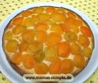Aprikosenkuchen | Mamas Rezepte - mit Bild und Kalorienangaben
