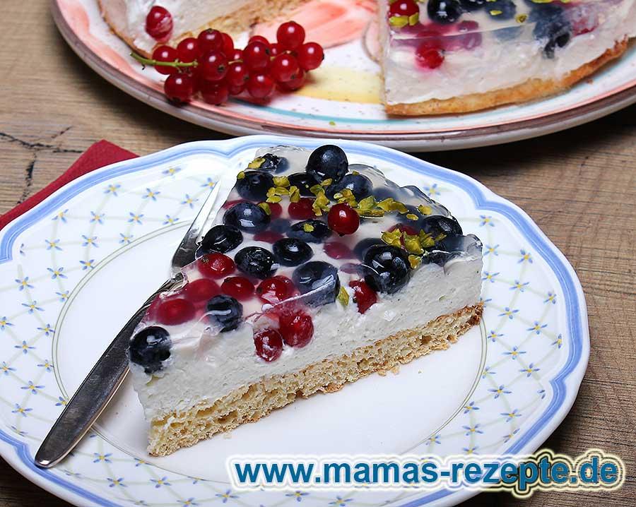 JoghurtFrchteTorte mit Stevia  Mamas Rezepte  mit