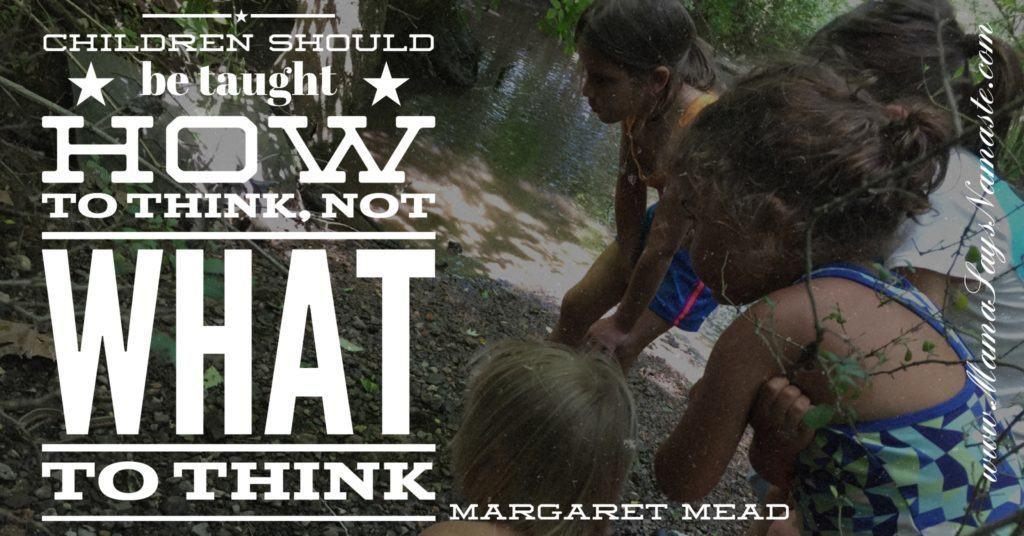 Margaret Mead Unschooling
