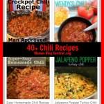 40+ Chili Recipe