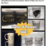 Game of Thrones Gifts Sale {Christmas Gift Ideas}