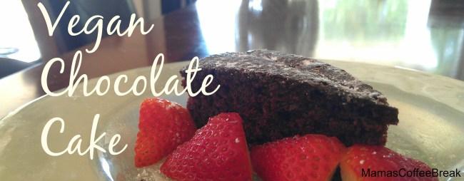 Delicious chocolate vegan cake MamasCoffeeBreak