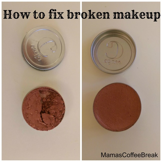 How to fix broken makeup MamasCoffeeBreak