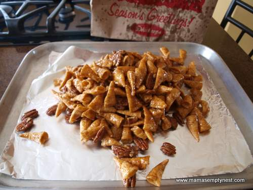 What's Cookin' – JoAnn's Bugle Snack Mix   Mama's Empty Nest