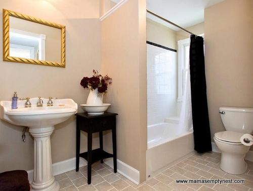 Bathroom Makeovers Houston bathroom makeovers at the quirky old home | mama's empty nest