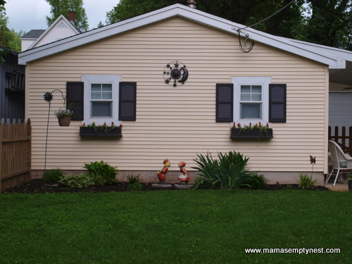 Houston Garage Shutters and Flower Boxes