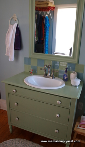 Master Bedroom Closet Sink