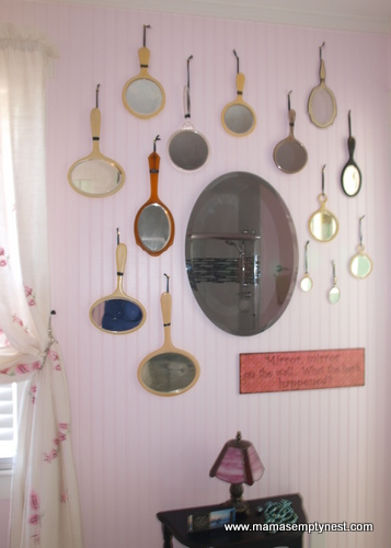 Bathroom mirror wall 1