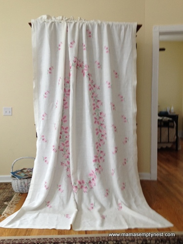 Linen tablecloth drapery 3