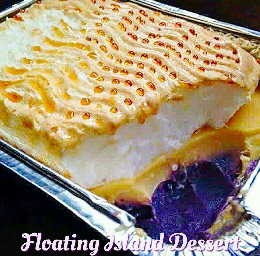 Floating Island Recipe (Filipino Style), Floating Island (Filipino Style)