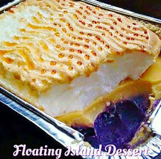 Floating Island Recipe (Filipino Style), Floating Island (Filipino Style)