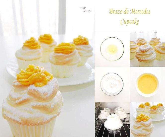 How to make Brazo de Mercedes Cupcake