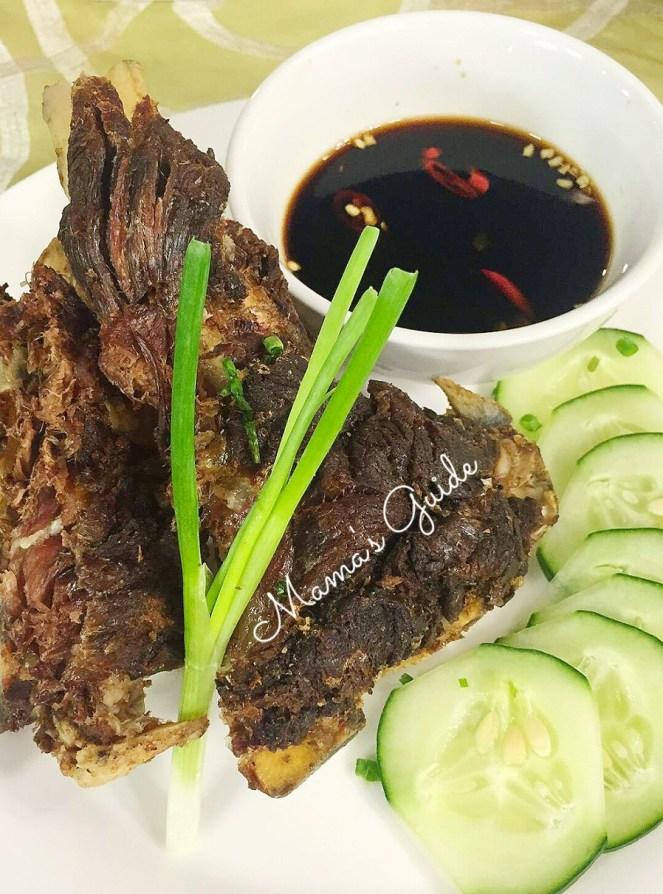 Crispy Tadyang ng Baka, crispy beef tadyang, crispy tadyang gerry's grill,