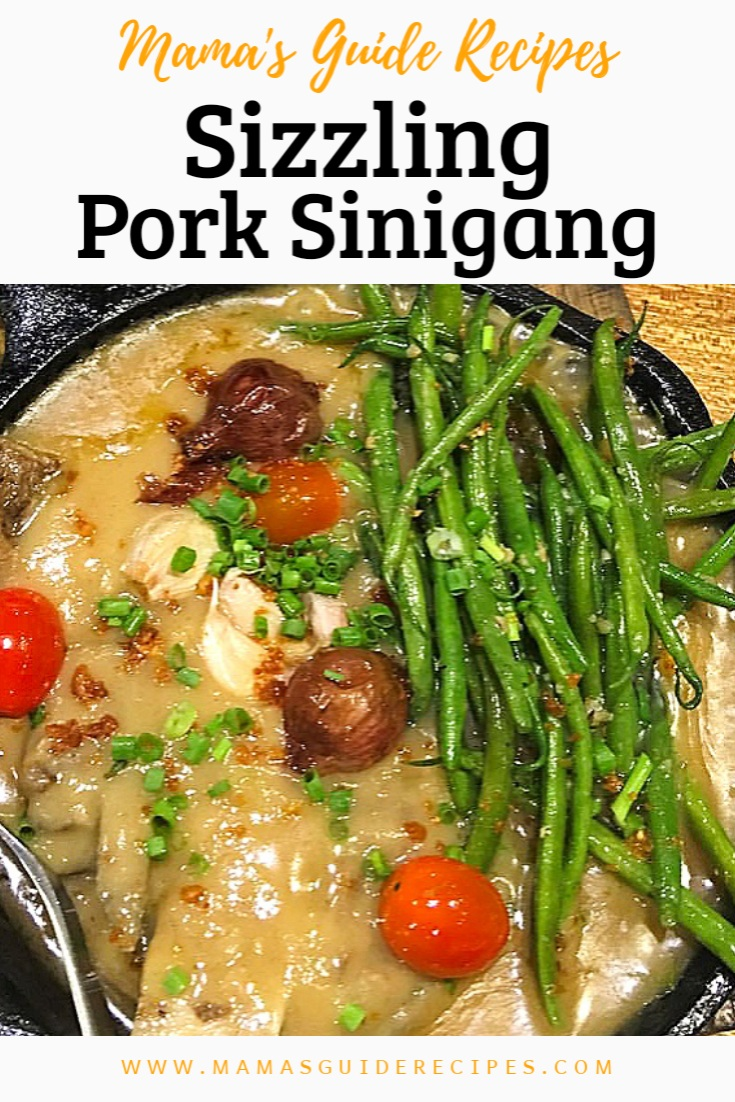 Sizzling Pork Sinigang