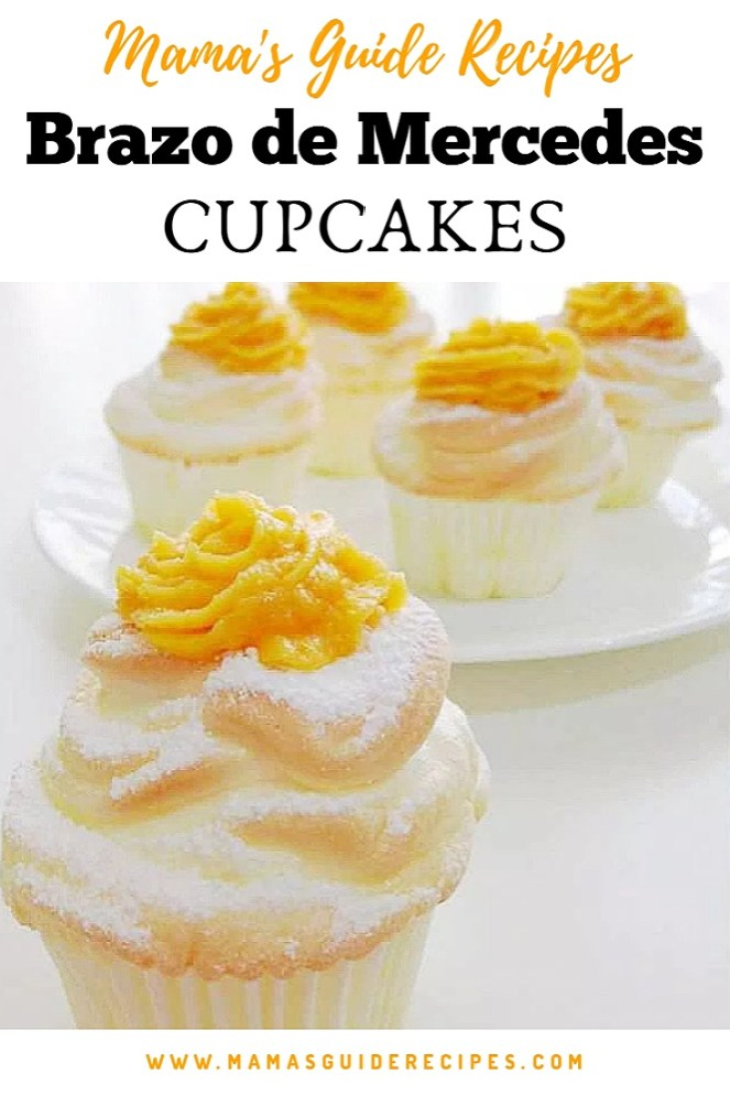 How to make Brazo de Mercedes Cupcakes