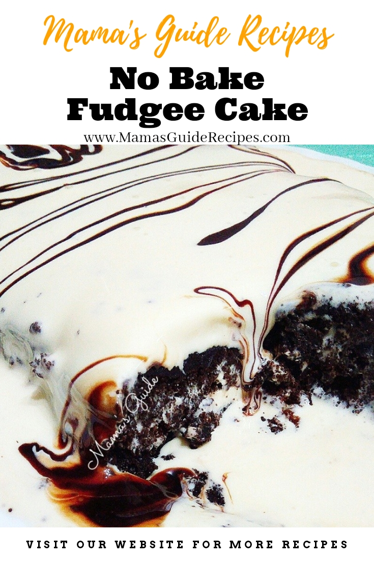 Fudgee Cake (No Bake)