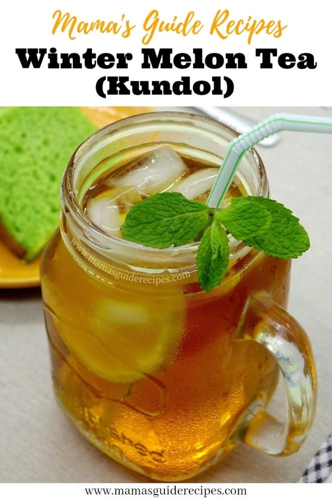 Winter Melon Tea (Kundol)