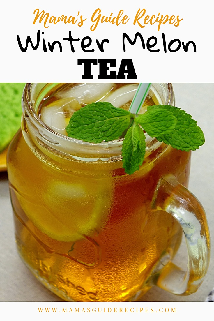 Winter Melon Tea Recipe