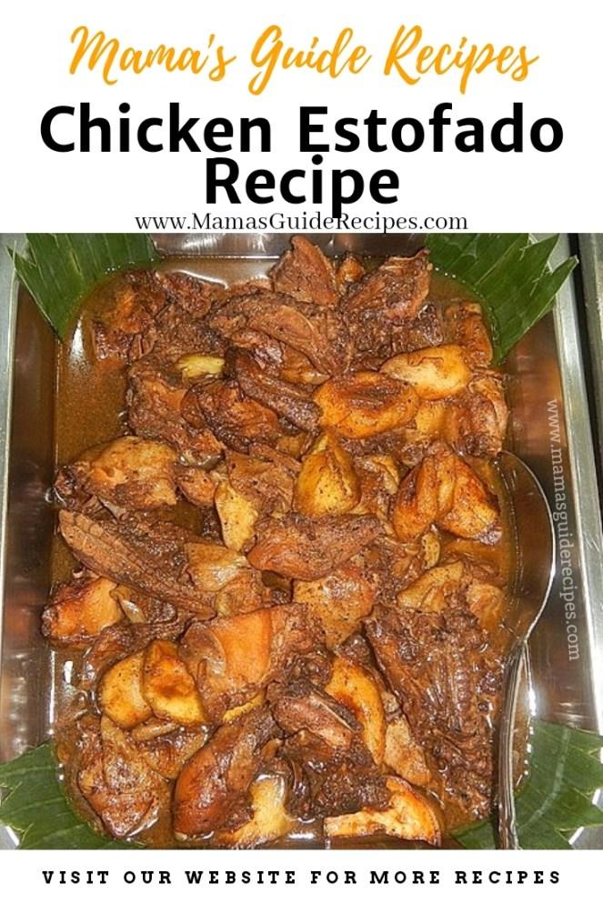 Chicken Estofado Recipe
