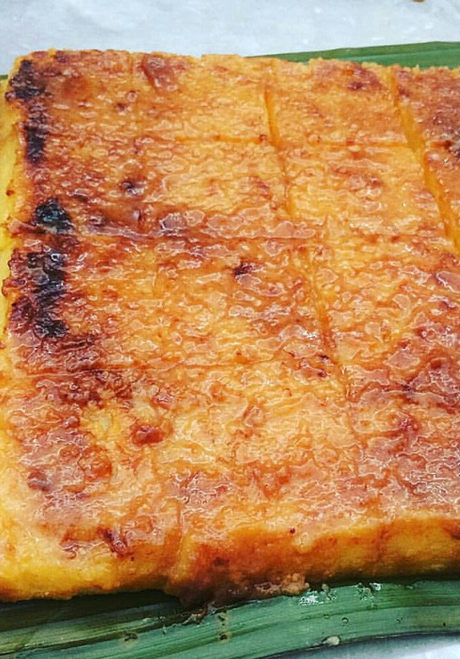 ​Cassava  Cake using Cassava Flour