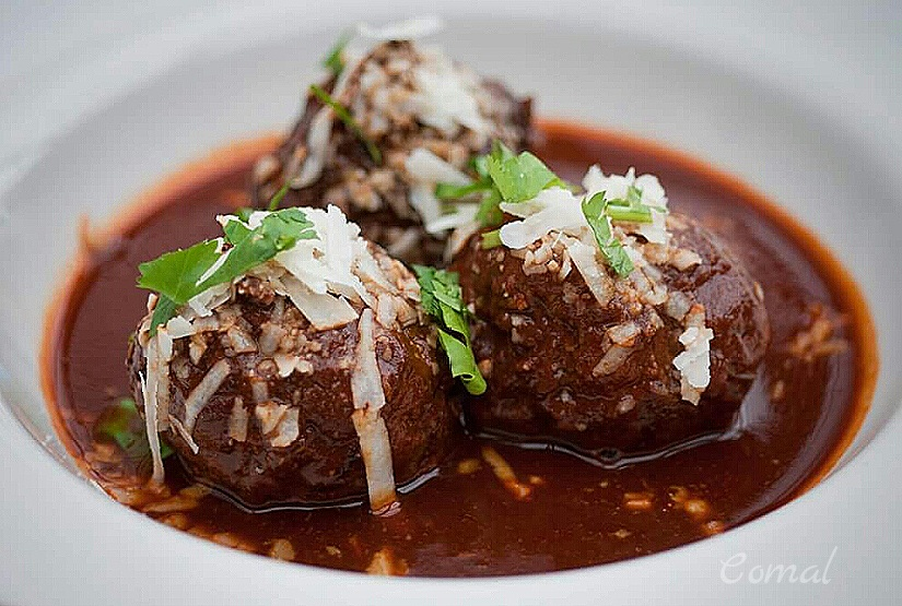 Spicy Meatballs Adobo