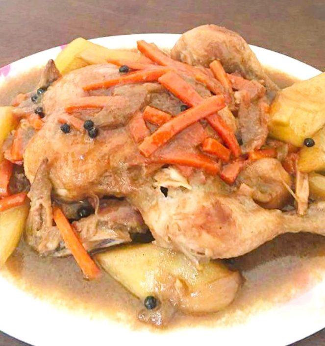 Chicken Kinulob Recipe, kinulob na manok sa gata