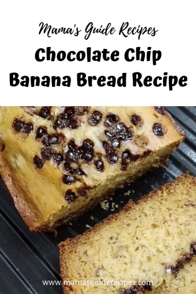 Chocolate Chip Banana BreadRecipe