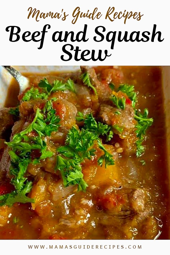 BEEF AND SQUASH STEW