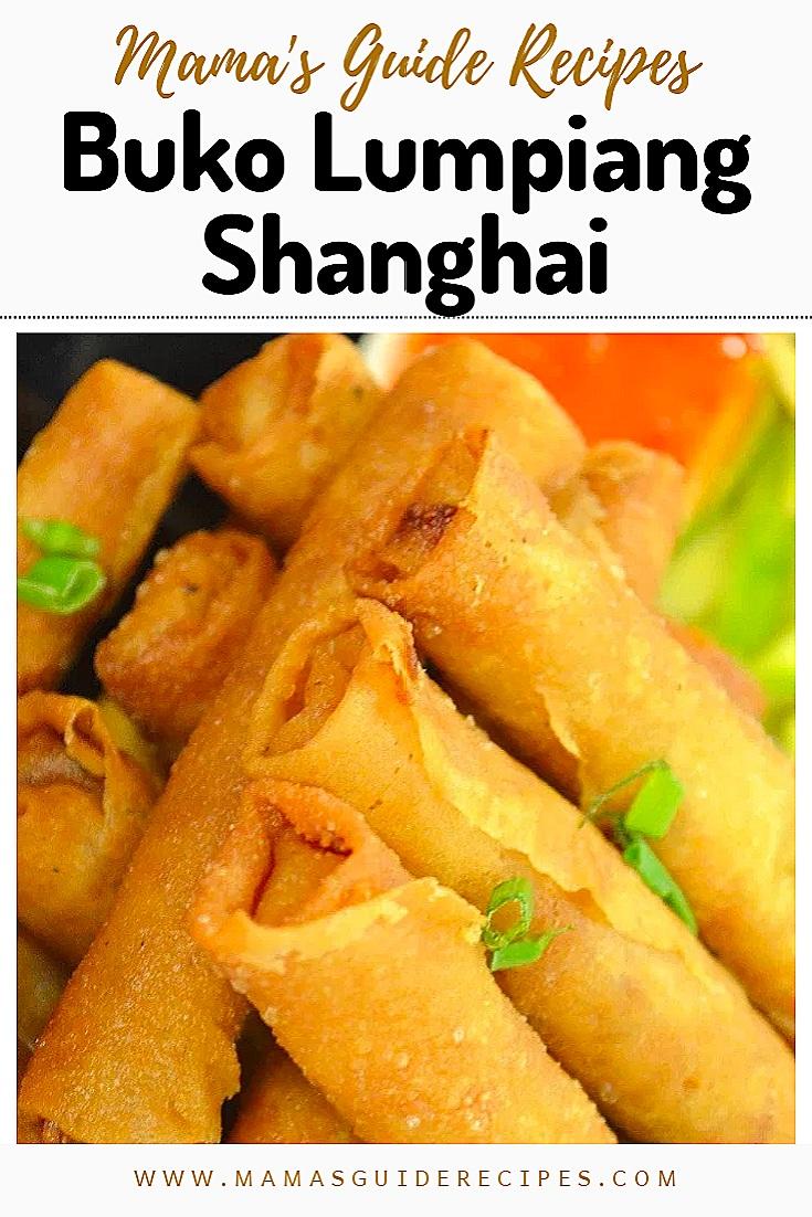 Buko Lumpiang Shanghai