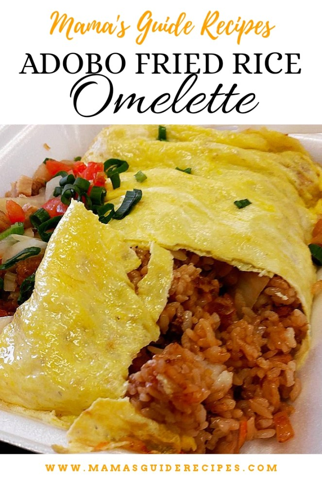 Adobo Fried Rice Omelette