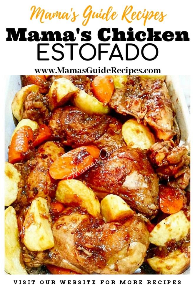 Mama's Chicken Estofado