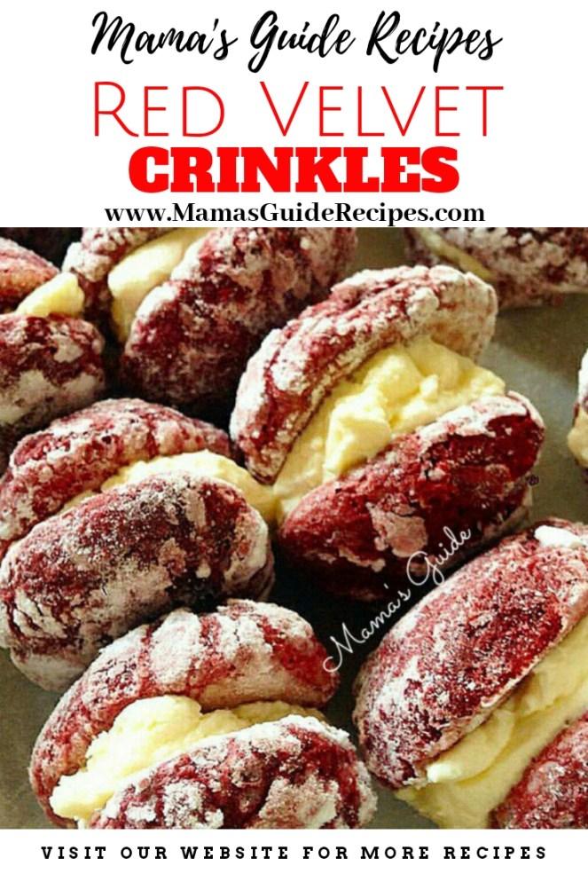 Red Velvet Crinkles