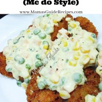 Chicken ala King (Mc do Style)