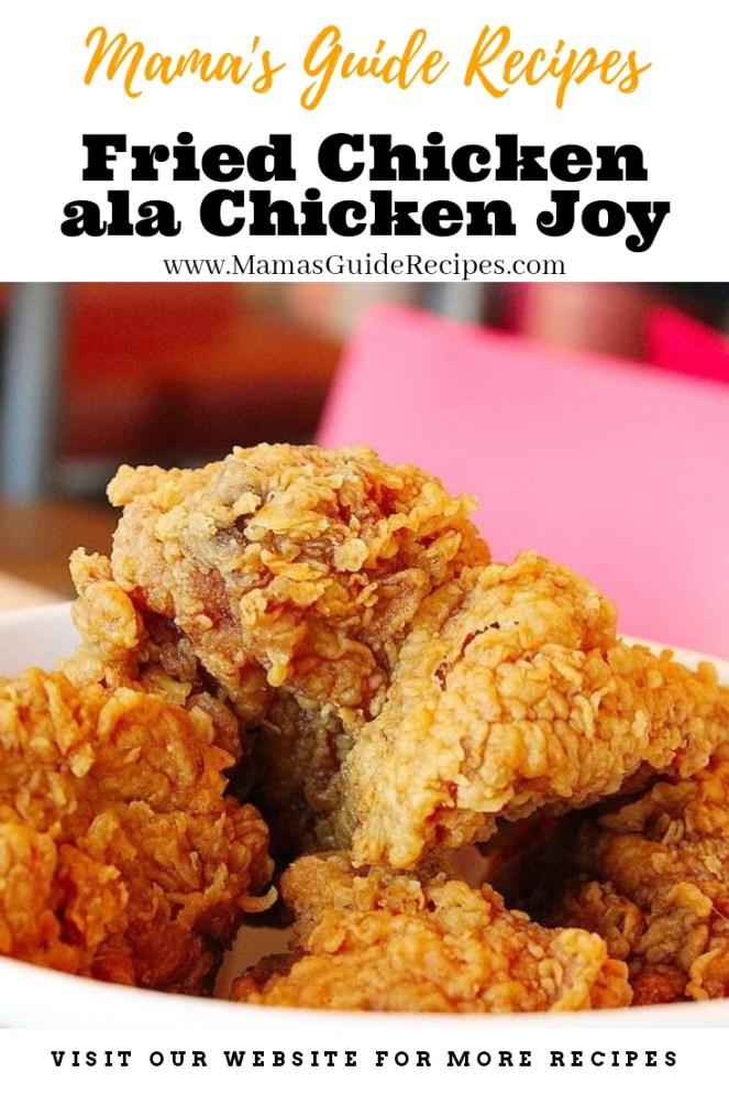 Fried Chicken ala Chicken Joy