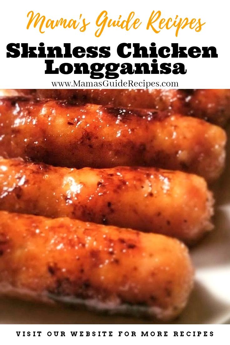 Skinless Chicken Longganisa