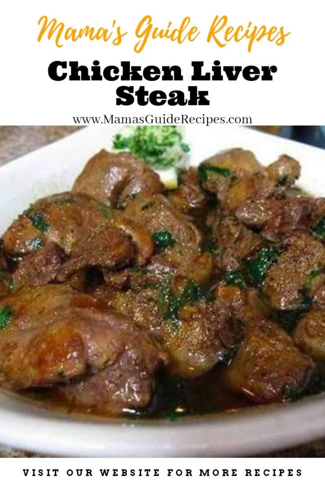 Chicken LiverSteak