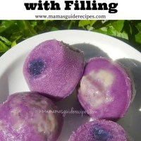Ube Puto with Filling