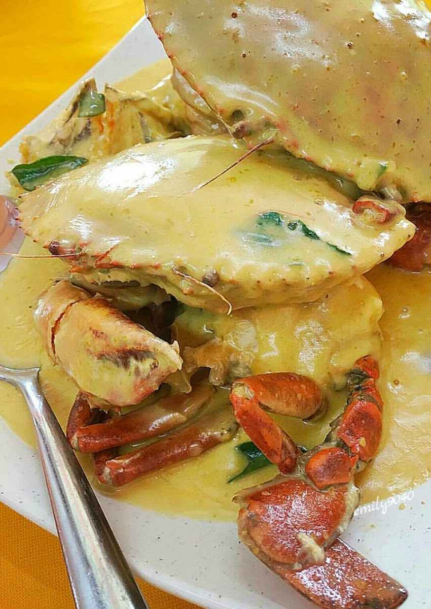 Singapore's Salted Egg Crab (Filipino Version)