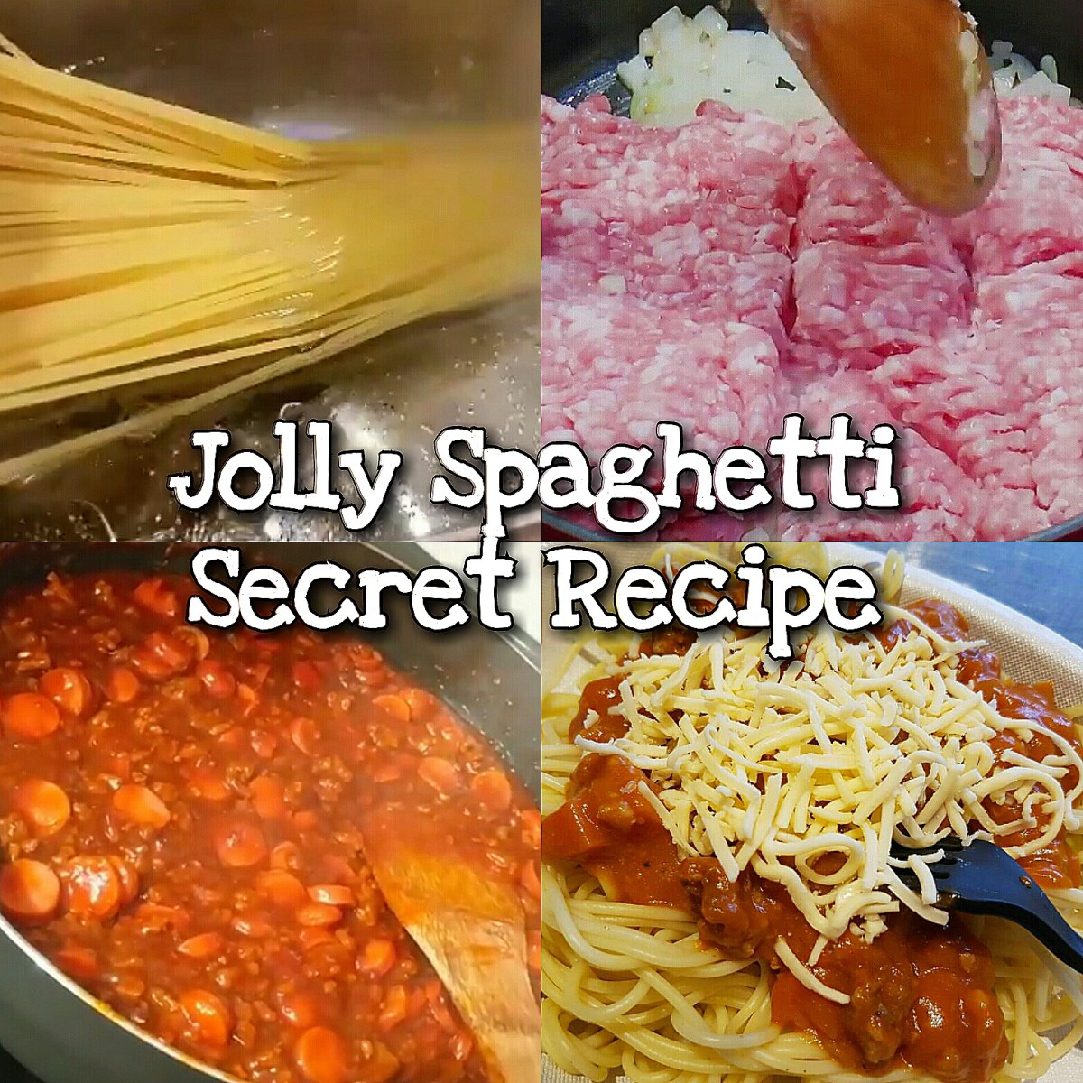 Jolly Spaghetti Secret Recipe