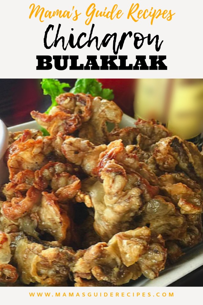 How to Chicharon Bulaklak