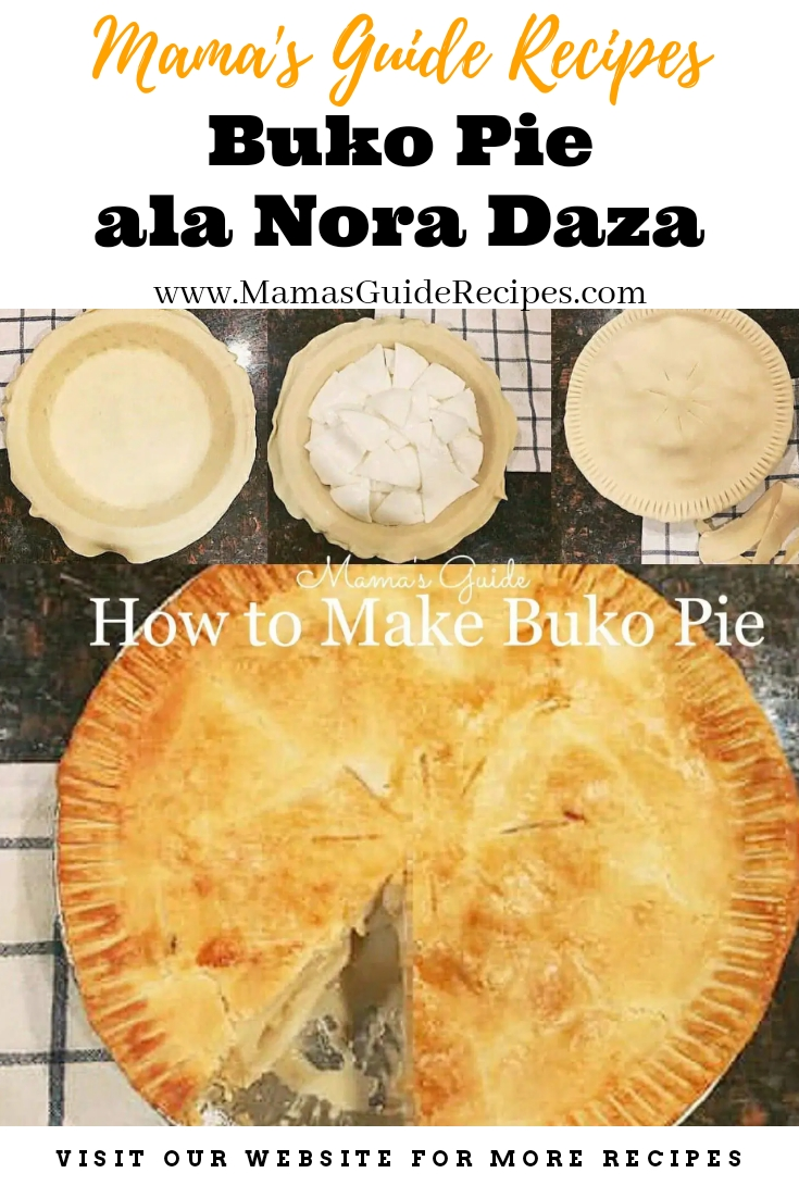 Buko Pie ala Nora Daza