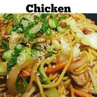 Chicken Yakisoba