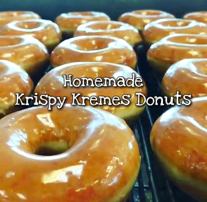 Homemade Krispy Kremes Donuts