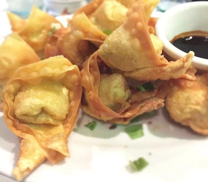 Crispy Fried Shrimp Wonton