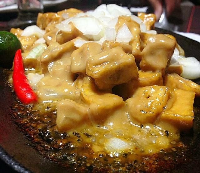 Tofu Sisig, tokwa sisig