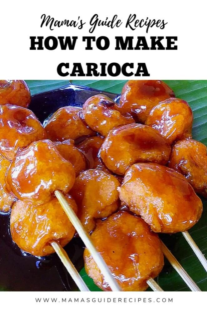 How to Make Carioca