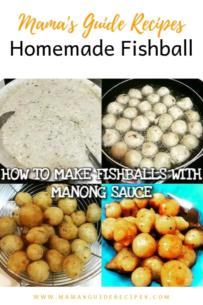 How to Make Fishballs with Manong Sauce