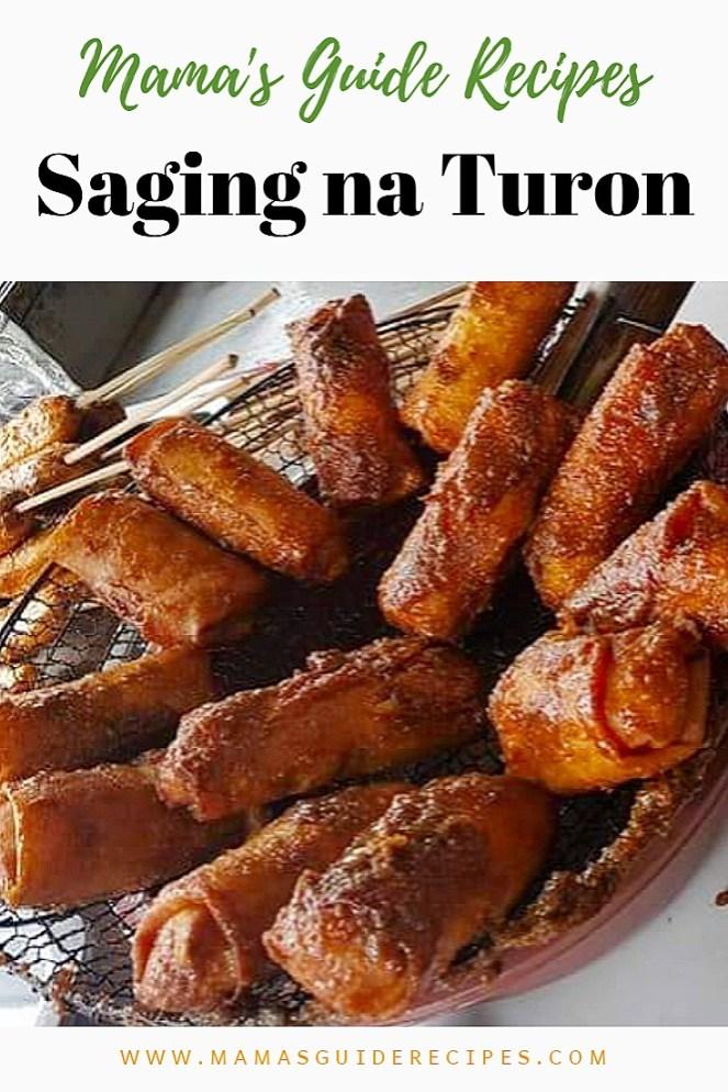 Saging na Turon